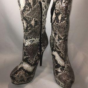 Charlotte Russe hot snakeskin boots